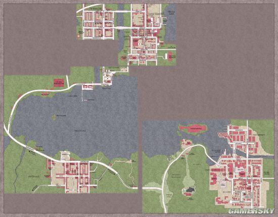 """游戏世界地图大比拼 《巫师》最美""""老滚""""最萌"""