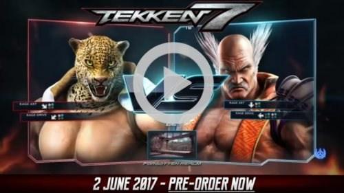 《铁拳7》最新演示影像放出豹王vs三岛平八