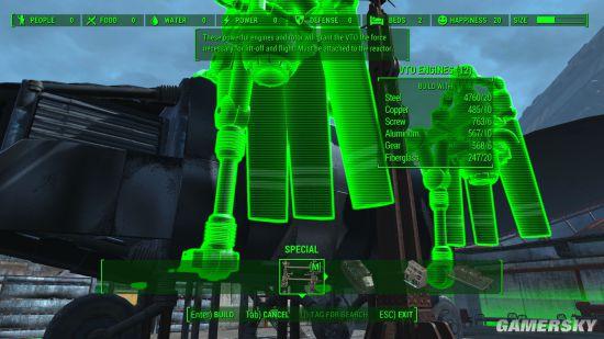 《辐射4》新mod把飞机变成了家 随时随地环游废土