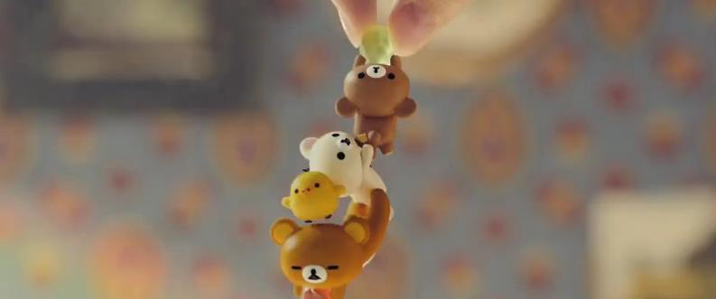 你的小可爱突然出现 轻松熊味觉糖广告公开受好评