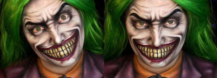 在dc漫画中,不得不说小丑是一个相当有魅力的角色,他的疯癫不同于图片