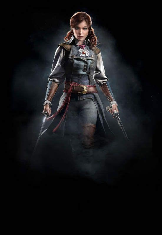 《刺客信条:大革命》女性圣殿骑士和刺客竟然并肩